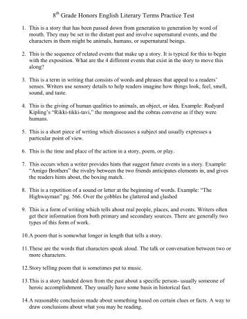 quiz grade 12 as lit chapter Co py ri ght ©t he mcgraw-hill companies, inc introduction to reading strategies and literary elements • grade 8 3 introduction to reading strategies and literary.