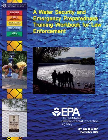 Water Security and Emergency Preparedness - OrgSites