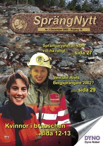 SprengNytt Nummer 2_2002.pdf - Orica Mining Services