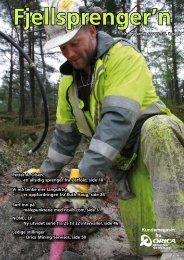 Fjellsprengern Nummer 2_2007.pdf - Orica Mining Services