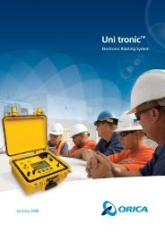 Uni tronic™ - Orica Mining Services