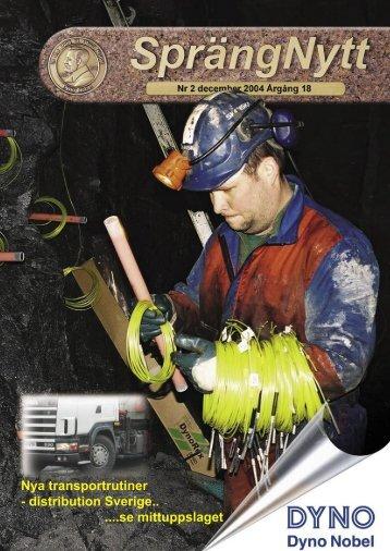 SprengNytt Nummer 2_2004.pdf - Orica Mining Services