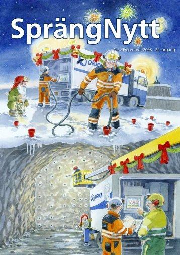 SprengNytt Nummer 2_2008.pdf - Orica Mining Services