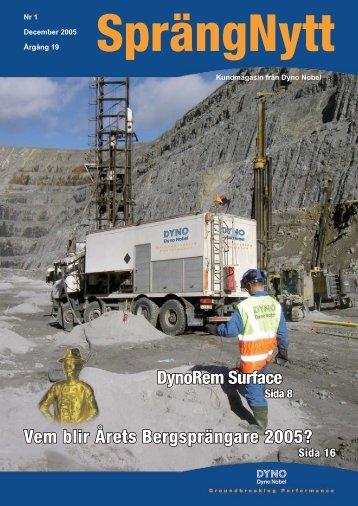 SprengNytt Nummer 1_2005.pdf - Orica Mining Services