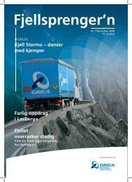 Fjellsprengern Nummer 1_2008.pdf - Orica Mining Services