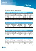 Prisliste - Orica Mining Services - Page 4