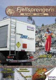 Fjellsprengern Nummer 1_2002.pdf - Orica Mining Services