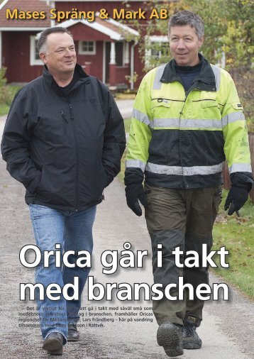 Mases Spräng & Mark AB - Orica Mining Services