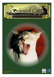 Magazin der Interessengemeinschaft Oriental Cats