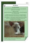 Magazin der Interessengemeinschaft Oriental Cats - Seite 6