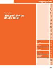 Stepping Motors (Motor Only) - Oriental Motor