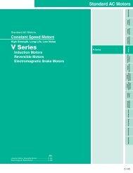 V Series Product Catalog - Oriental Motor