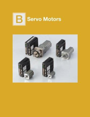 B Servo Motors - Oriental Motor
