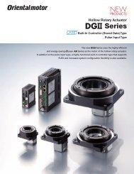 DG Series - Oriental Motor