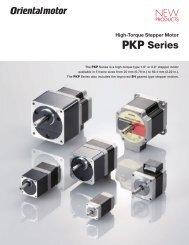 High-Torque Stepper Motor PKP Series - Oriental Motor