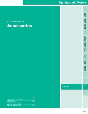 Accessories - Oriental Motor