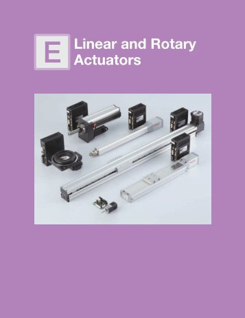 Linear and Rotary Actuators - Oriental Motor
