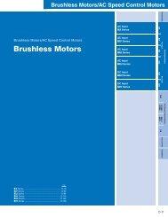 Brushless Motors - Oriental Motor