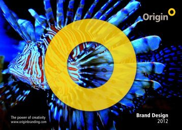 Brand Design 2012 - Origin Brand Consultants