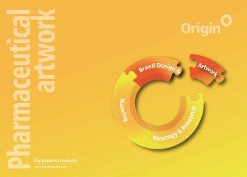 pharmaceutical artwork - Origin Brand Consultants