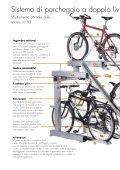 Sistema di parcheggio a doppio livello per biciclette - Orion ... - Page 2
