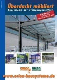 Überdacht möbliert - Orion Bausysteme GmbH