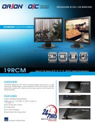 PDF (495KB) - Orion Images Corporation