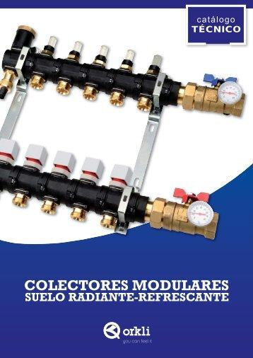 Catalogo colectores modulares composite - Orkli