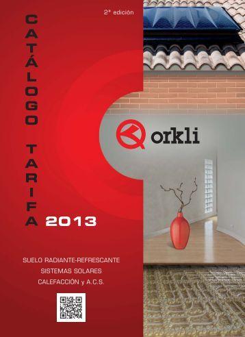 Catalogo tarifa 2013_ESP - Orkli