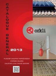systèmes de plancher chauffant - Orkli