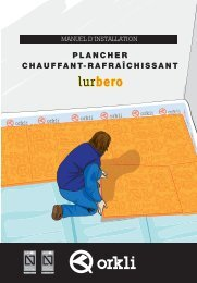 Underfloor heating-cooling manual_French - Orkli