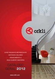 sistemas de chão radiante-refrescante - Orkli