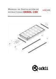 Estructura-soporte OKSOL-150 - Orkli