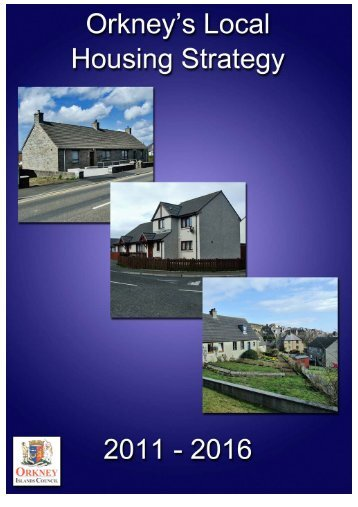 Local Housing Strategy - Orkney Islands Council