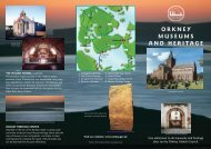 Orkney Museums and Heritage Leaflet - Orkney Islands Council