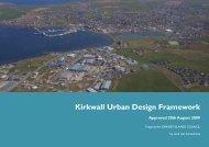 Kirkwall Urban Design Framework Part 1 - Orkney Islands Council