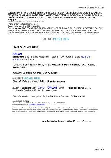 Milton Rosa-Ortiz, Claude Sabbah, Pierre Baey