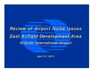 Noise Presentation - June 7, 2011 - Orlando International Airport