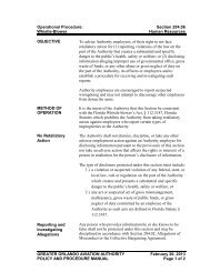 Operational Procedure: Section 204.06 Whistle-Blower Human ...