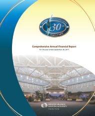Comprehensive Annual Financial Report - Orlando International ...