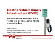 Electric Vehicle Supply Infrastructure (EVSE) - Orlando International ...