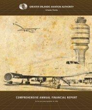 comprehensive annual financial report - Orlando International Airport