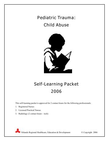 Pediatric Trauma Overview â Self-Learning Packet