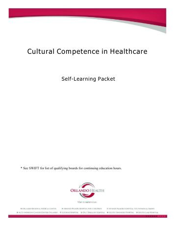 Cultural Competence in Healthcare - Orlando Health