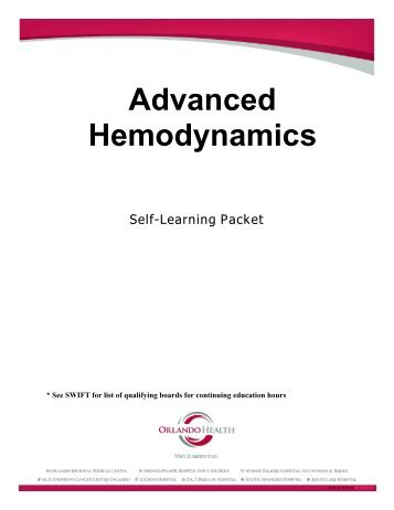 Advanced Hemodynamics - Orlando Health