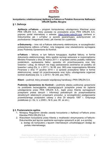 Kopia RegulaminFinał_126799@2[1] - PKN Orlen