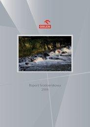 Raport Środowiskowy 2006 - PKN Orlen