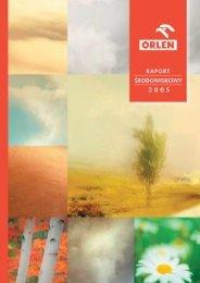 Raport Ekologiczny 2005 - PKN Orlen