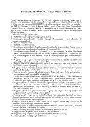 Zwołanie Walnego Zgromadzenia - PKN Orlen