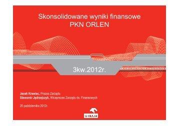 Prezentacja - PKN Orlen